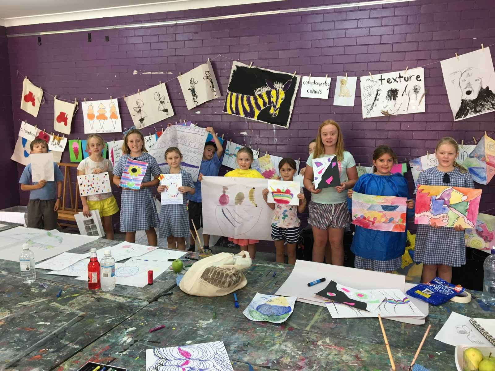 Art on Holidays: School Holiday Workshops